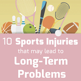 10 Sports Injuries that may Lead to Long-Term Problems