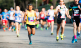 Avoid injuries during a marathon