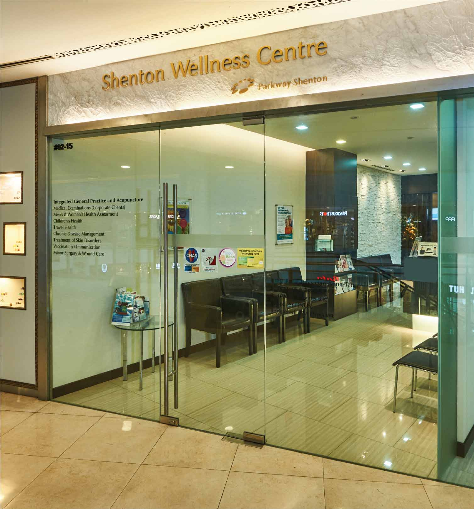 Alexandra Retail Centre - Shenton Wellness Centre