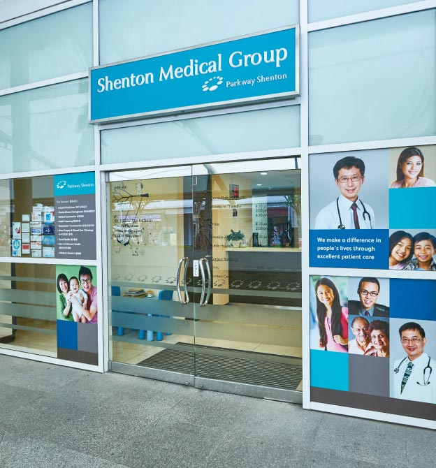 Buangkok MRT - Shenton Medical Group