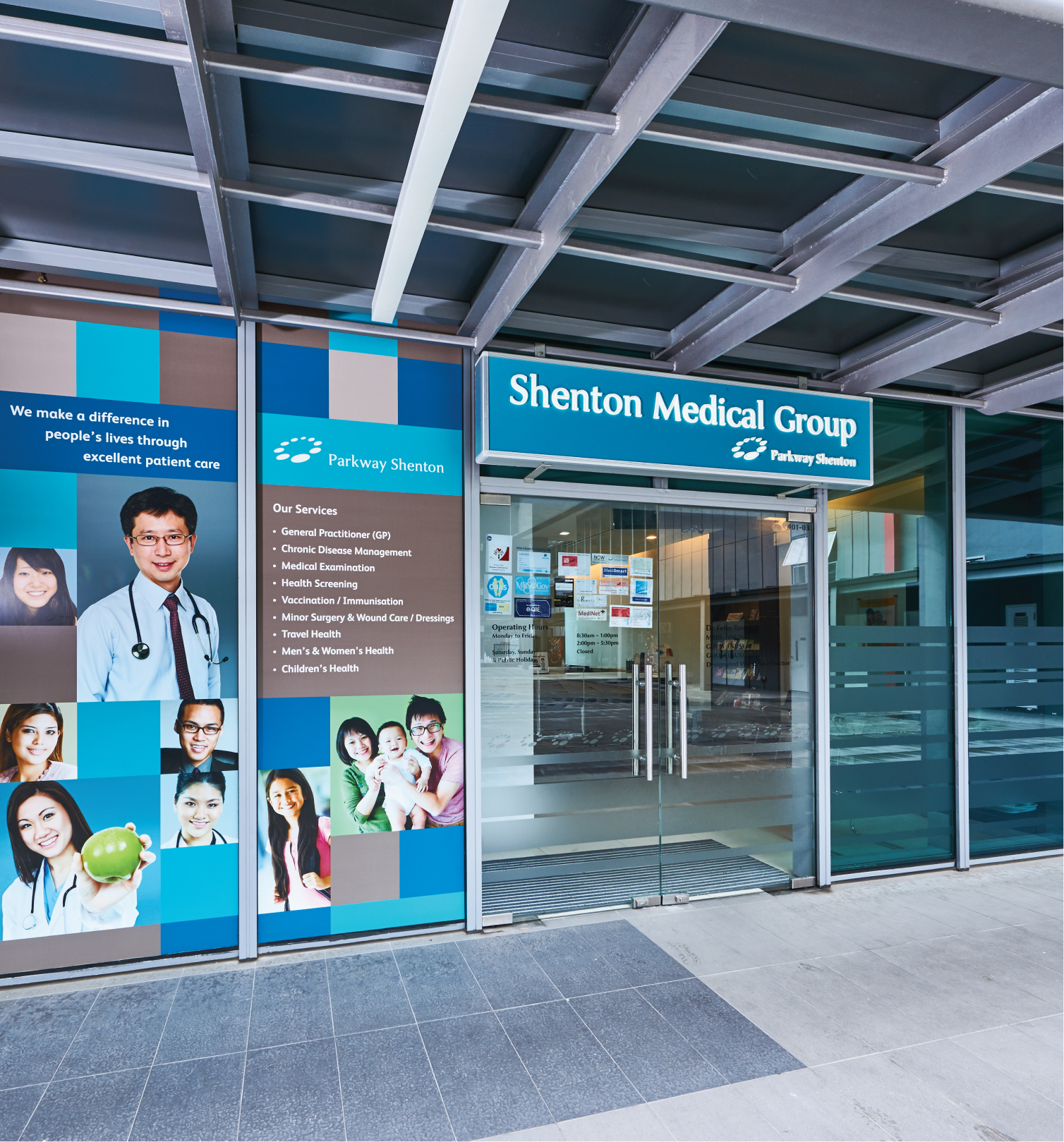 UE Bizhub - Shenton Medical Group